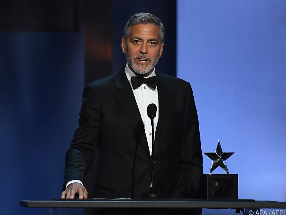 Clooney boykottiert die Luxus-Hotels des Sultans von Brunei