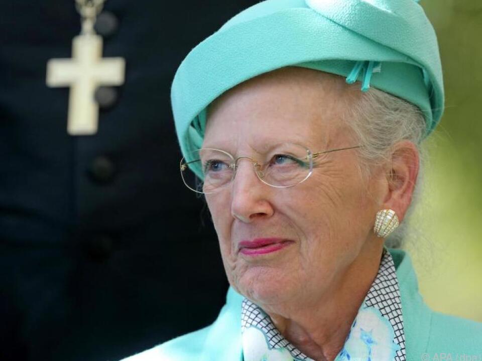 Dänische Königin Margrethe II.