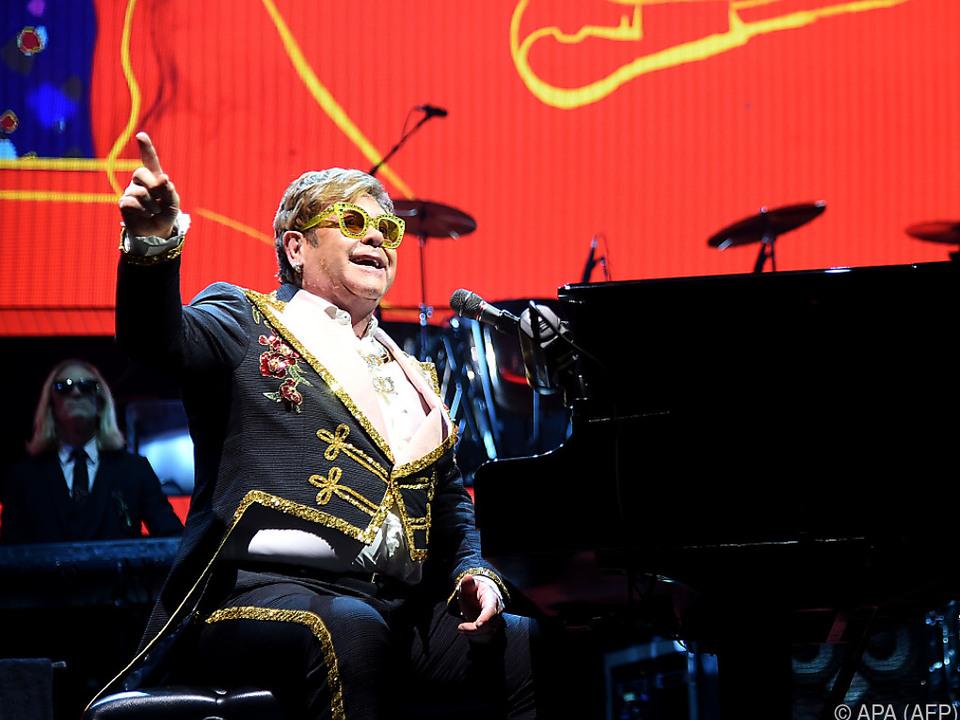 Das Wien-Konzert von Elton John steht kurz bevor