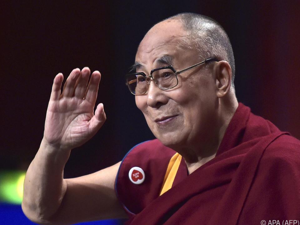 Der Dalai Lama hat sich von einer Lungenentzündung erholt