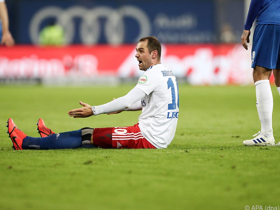 Der Hamburger SV gerät ins Wanken