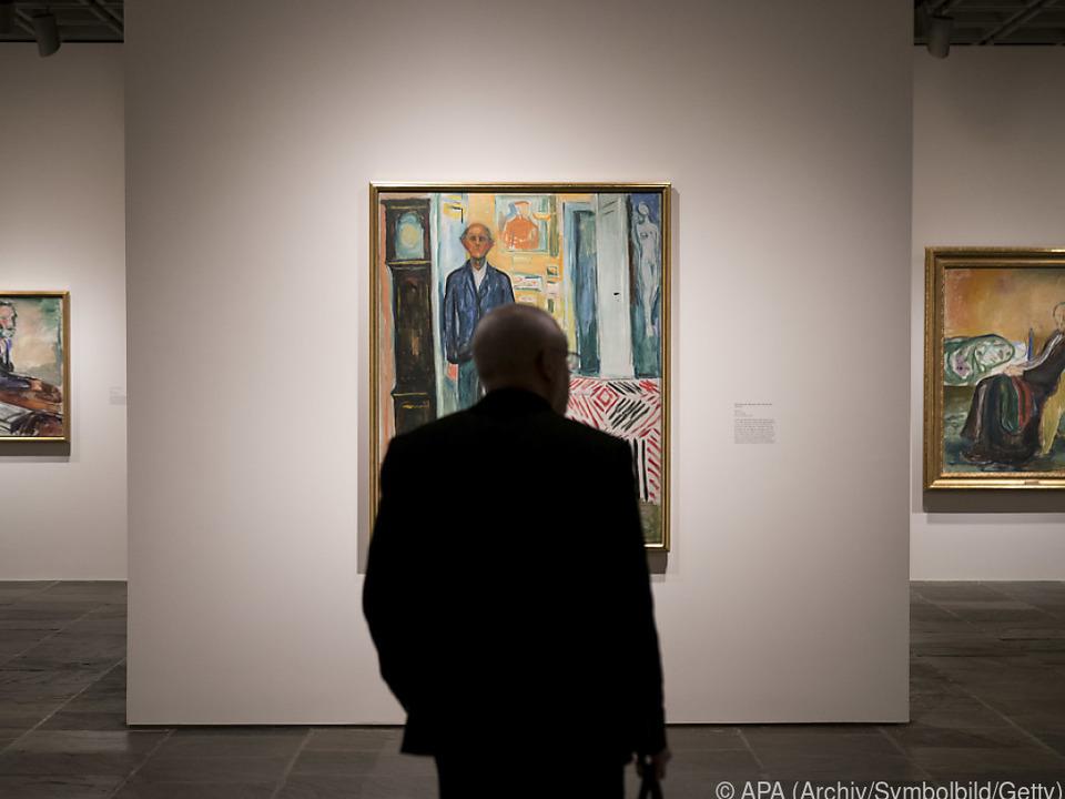 Der Künstler ist nicht nur für seine Malerei bekannt
