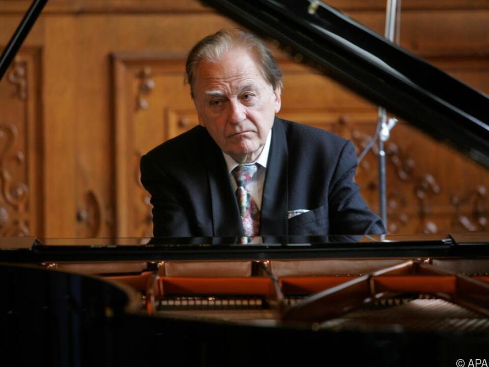 Der Pianist wurde 90 Jahre alt