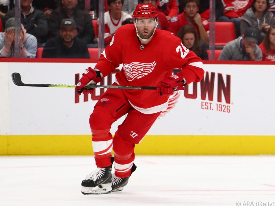 Der Steirer ist Österreichs erfolgreichster Spieler in der NHL