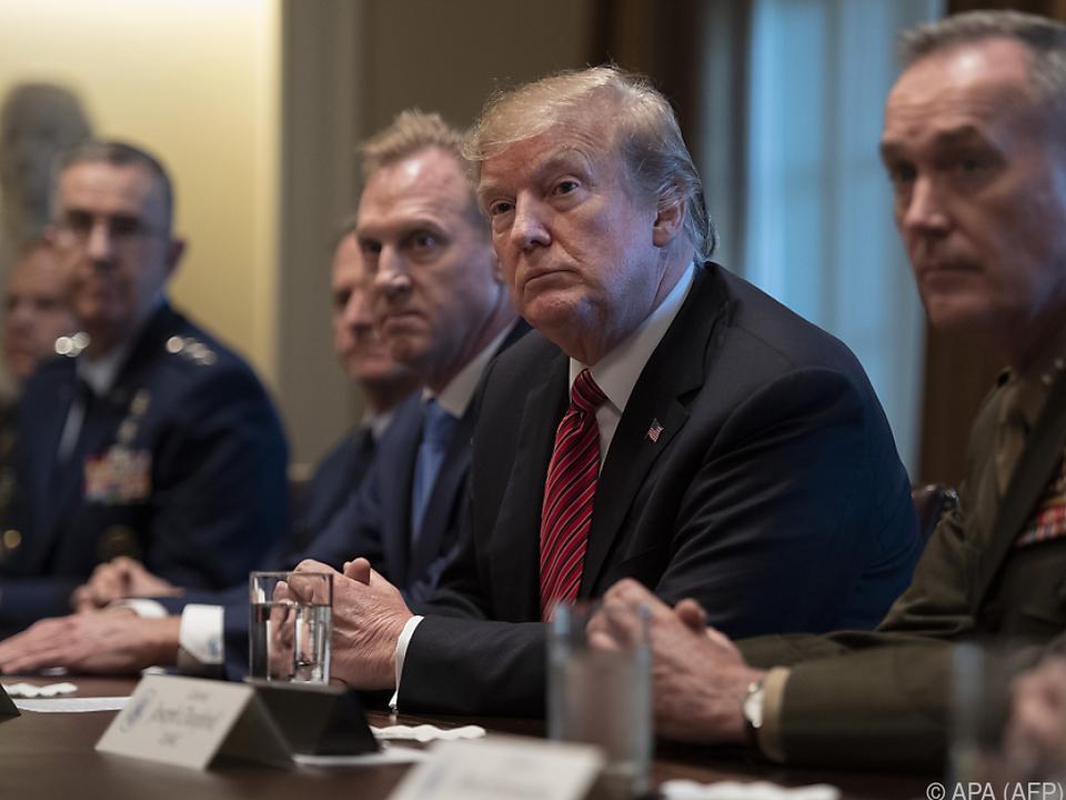 Der US-Kongress stellt Forderungen an Präsident Trump