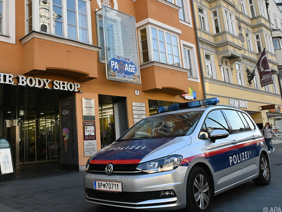 Der Vorfall ereignete sich in einer Rechtsanwaltskanzlei in Innsbruck