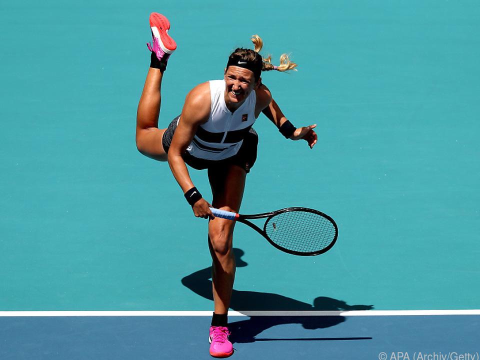 Die 29-jährige Weißrussin besiegte Angelique Kerber mit 6:4,4:6,6:1