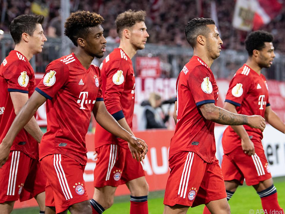 Die Bayern wollen mit einem Sieg am Dauerrivalen vorbeimarschieren