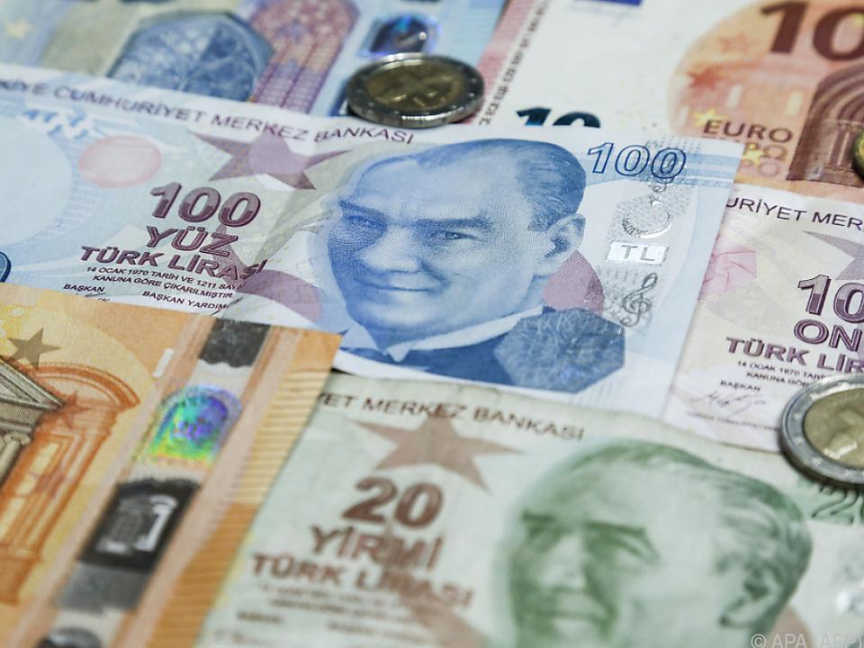Die Lira könnte nicht nur dem Euro gegenüber wieder ins Wanken geraten