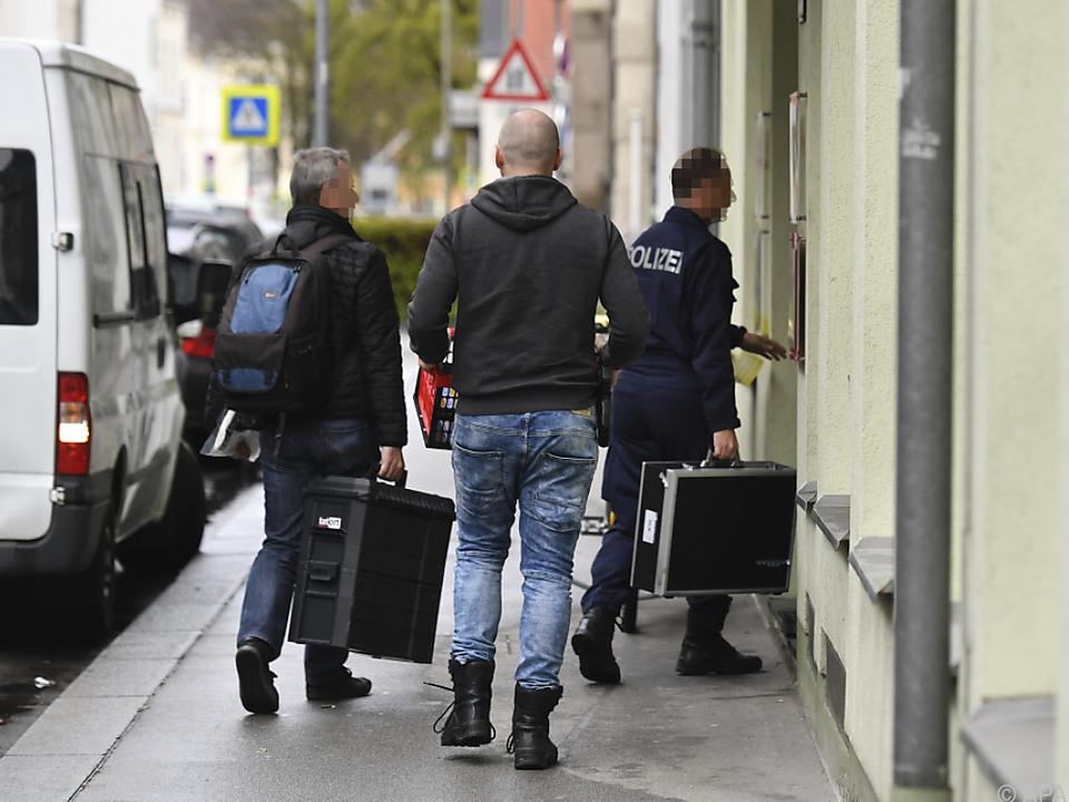 Die Polizei geht von einem Gewaltverbrechen aus