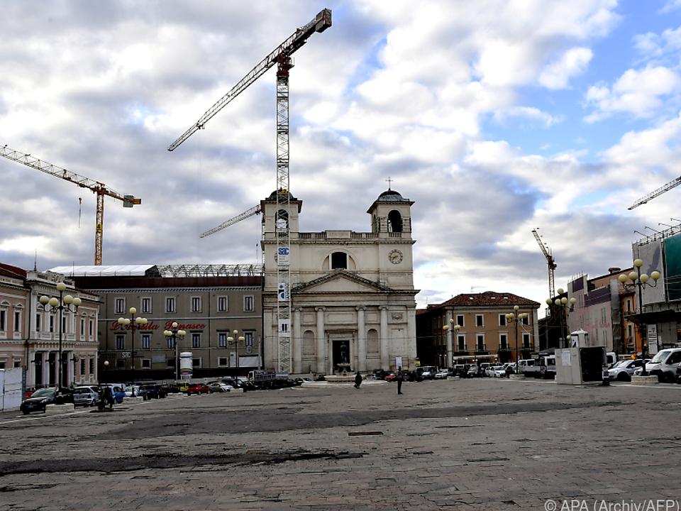Die Restauration der Stadt ist noch nicht abgeschlossen