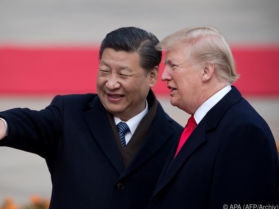Die USA und China liefern sich seit Monaten einen Handelsstreit