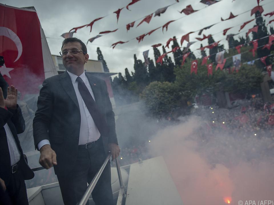 Ekrem Imamoglu ist offiziell der Wahlsieger