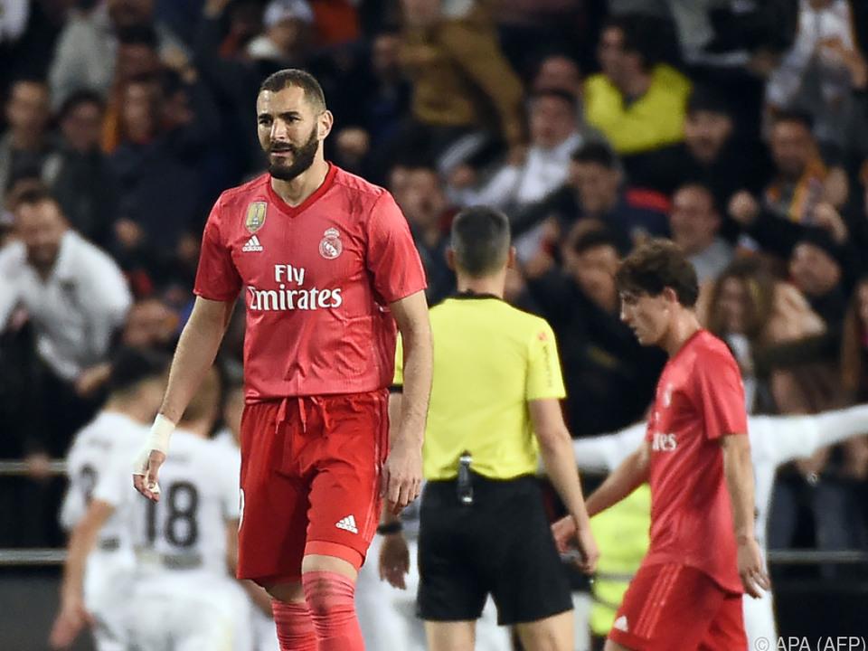 Enttäuschung bei Real Madrid