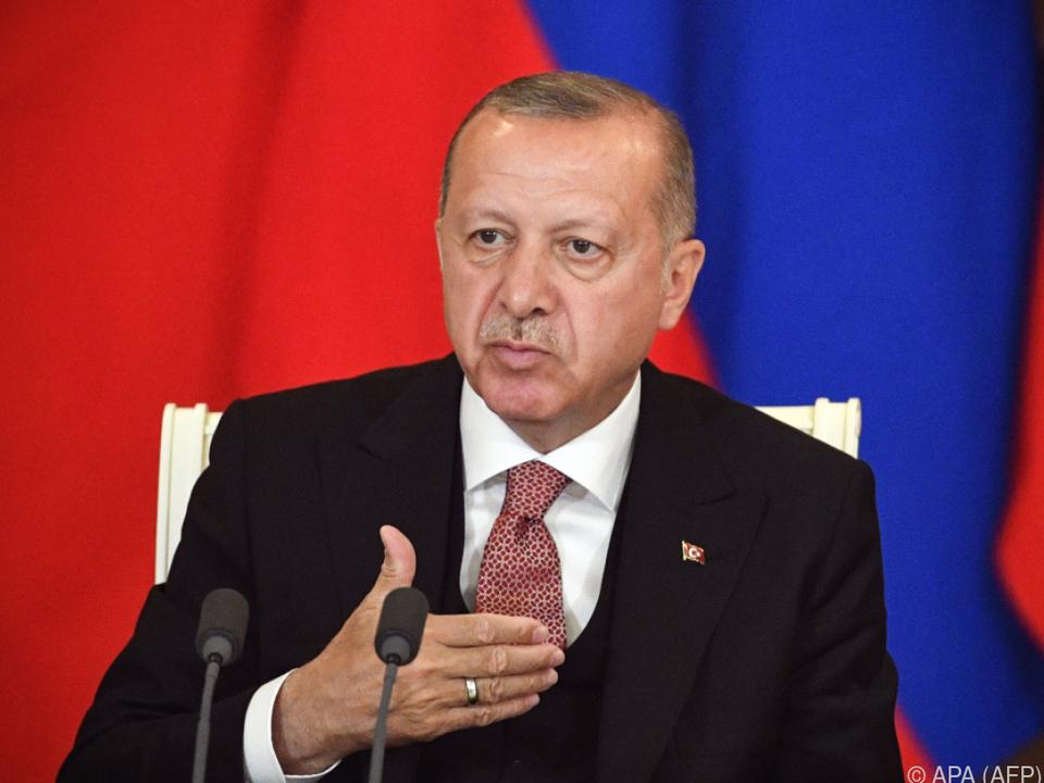 Erdogan erhebt Manipulationsvorwürfe