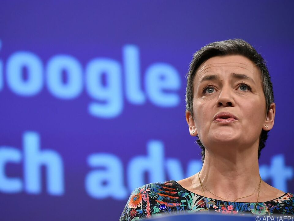 EU-Kommissarin Margrethe Vestager hat Internet-Giganten im Visier