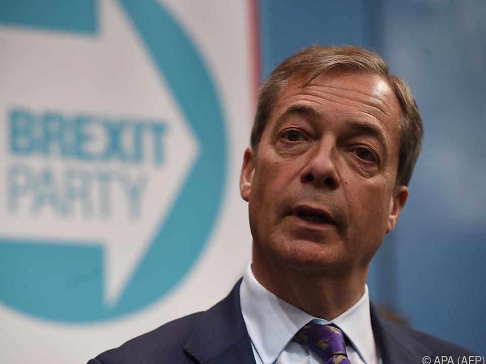 EU-Kritiker Nigel Farage