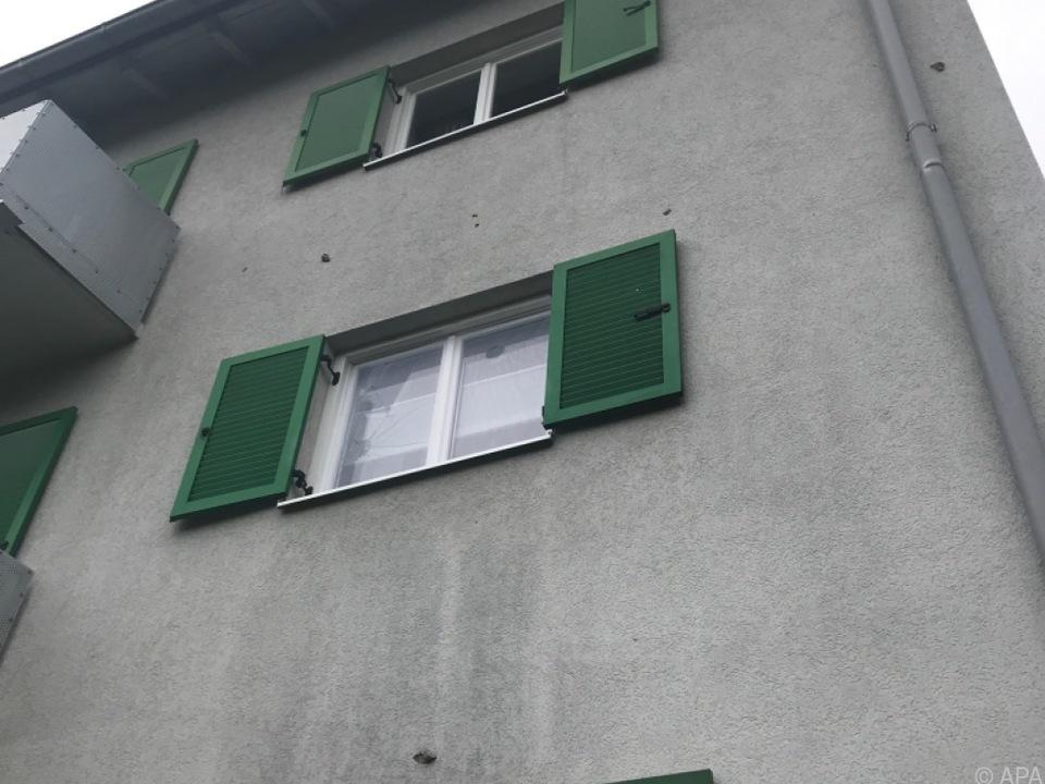 Fensterscheiben gingen zu Bruch