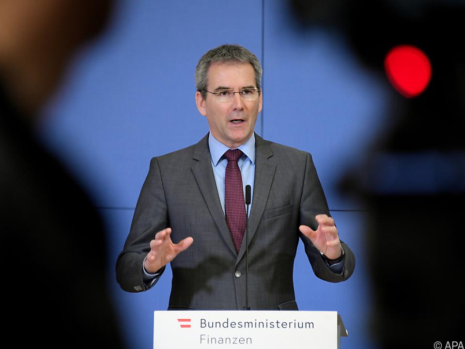 Finanzminister Löger: \