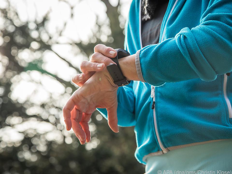 Fitnesstracker-Daten legen einen langen Weg zurück
