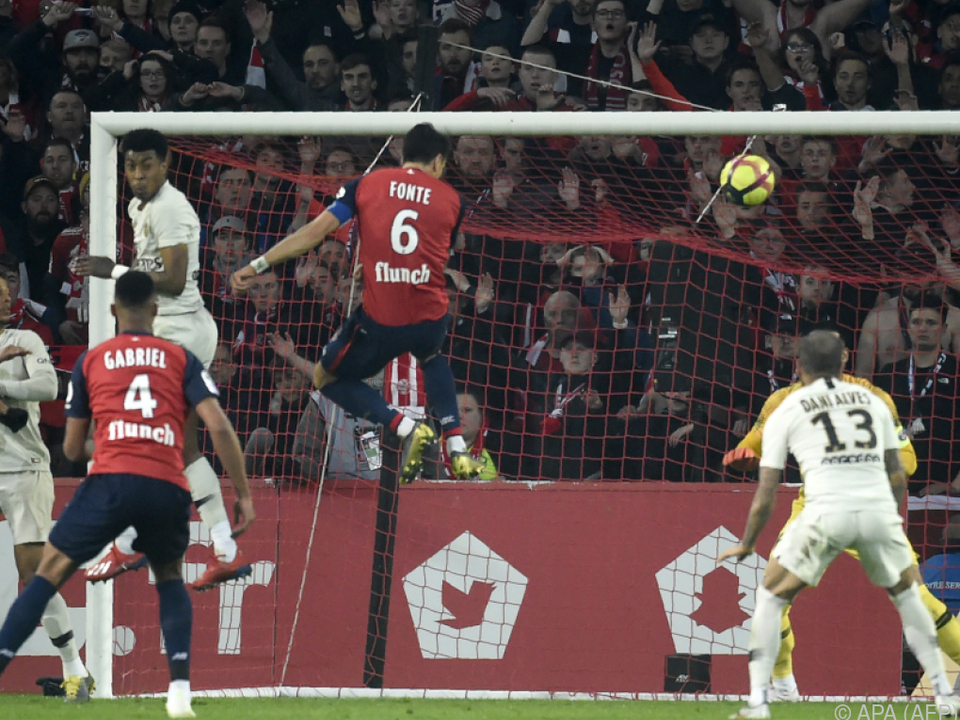 Fonte trifft für Lille