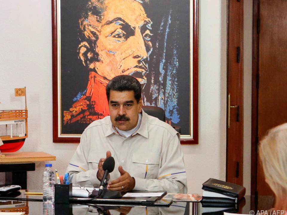 Für Maduro stecken Opposition und USA hinter den Stromausfällen