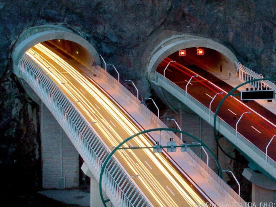 Furcht vor Fahrten durch Tunnel ist statistisch unbegründet