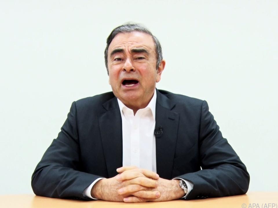 Ghosn in Japan gestrandet