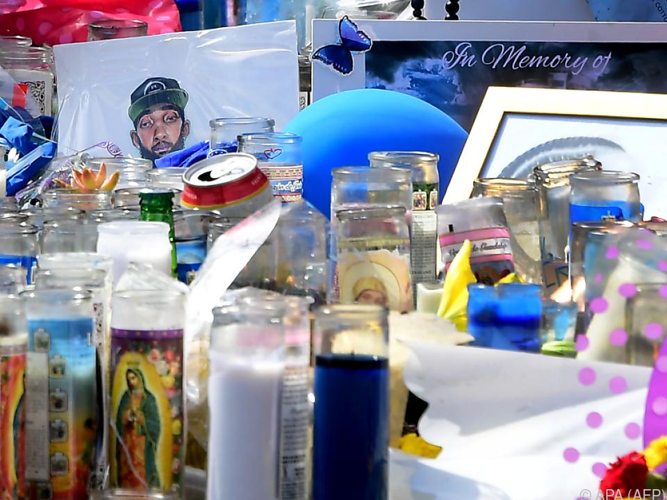 Große Trauer nach Tod von Hussle