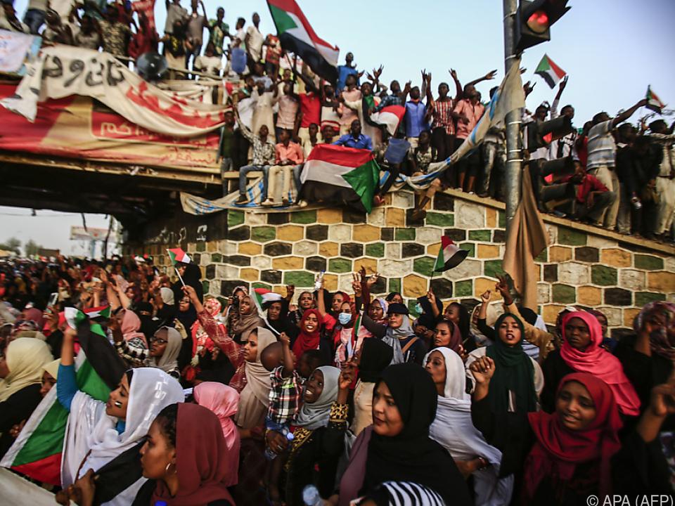 Im Sudan gehen weiter die Wogen hoch