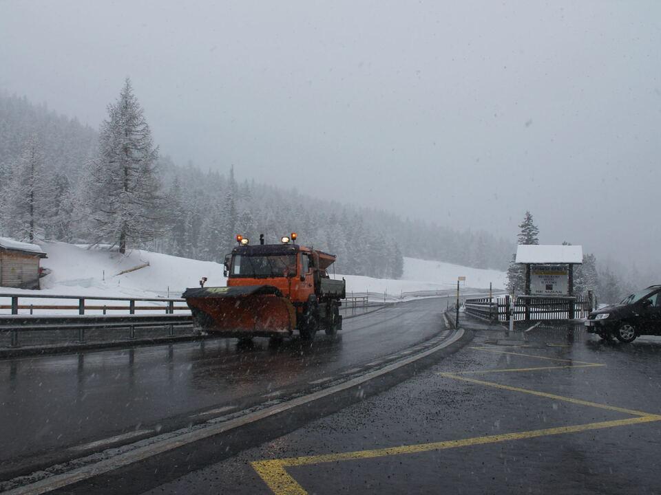 Schnee Vinschgau Schweiz