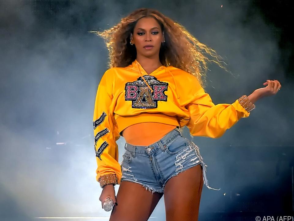 Immer für eine Überraschung gut: Sängerin Beyonce