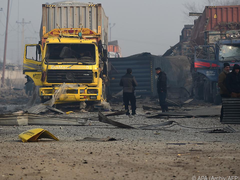 Immer wieder Anschläge durch den Taliban