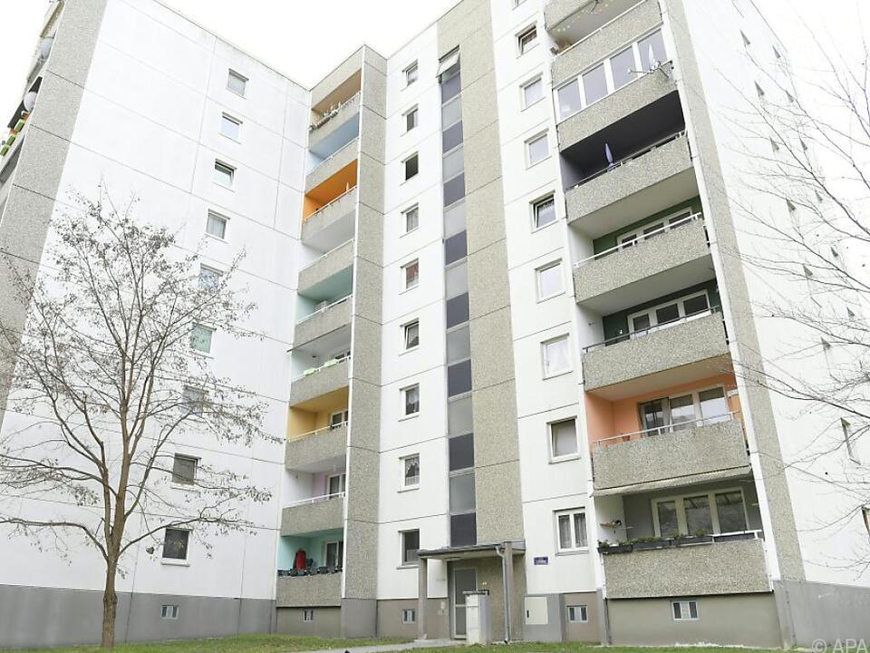 In diesem Wohnhaus in Wien war der Tatverdächtige festgenommen worden