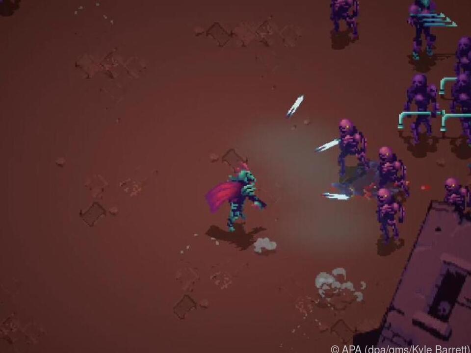In Roguelikes sterben Spieler nur einen Tod. Dann geht es wieder von vorne los.
