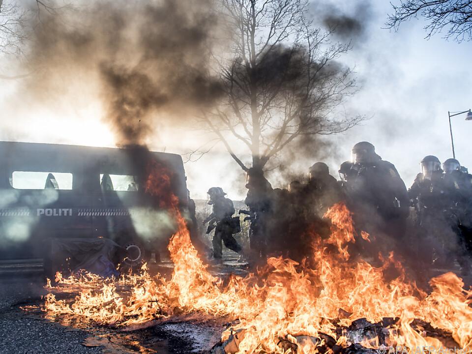 In Kopenhagen gibt es Krawall wegen eines Islamkritikers