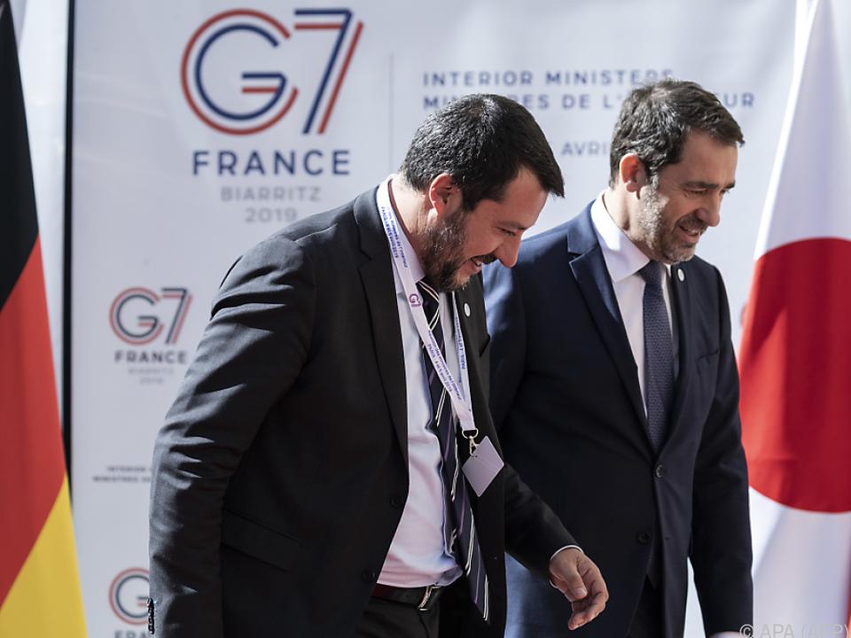 Innenminister treffen sich zur Vorbereitung auf G-7-Gipfel in Paris
