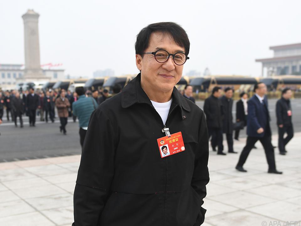 Jackie Chan denkt noch lange nicht ans Aufhören