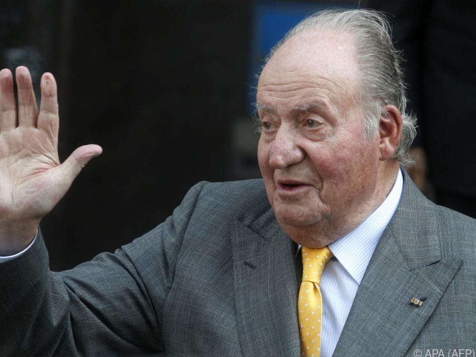 Juan Carlos ließ sich vorbeugend eine Hautverletzung entfernen