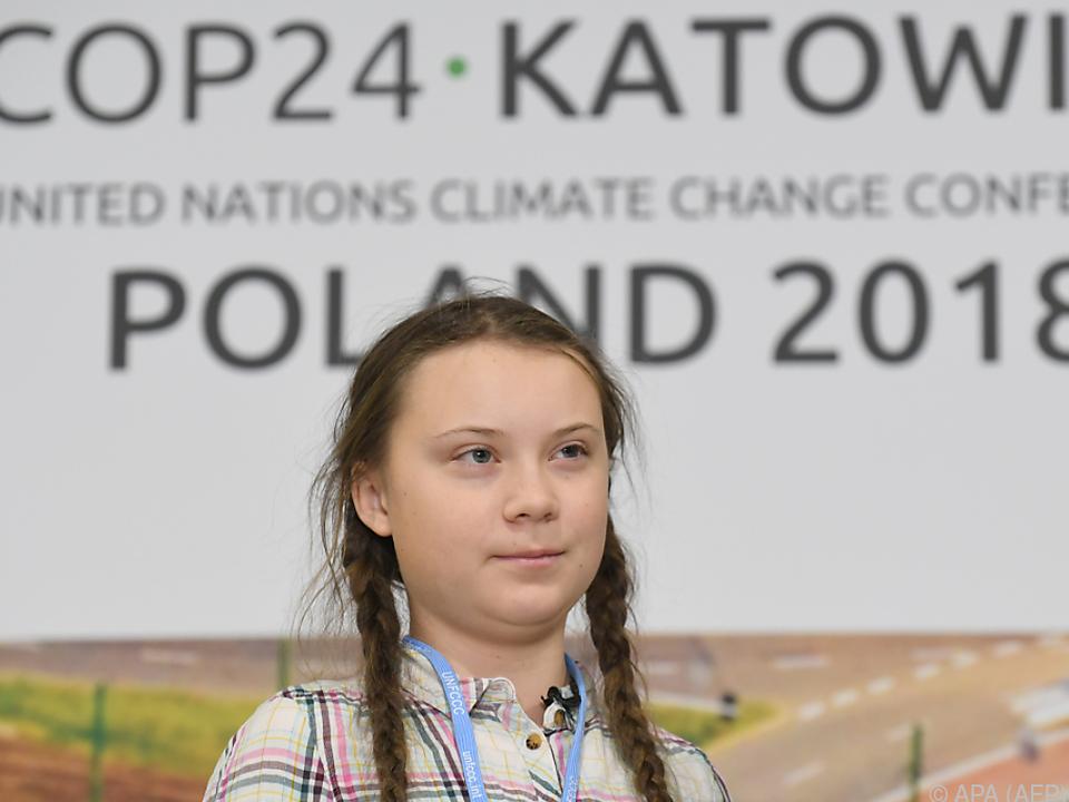 Junge Klimaschutzaktivistin bei Europas Politspitzen zu Gast