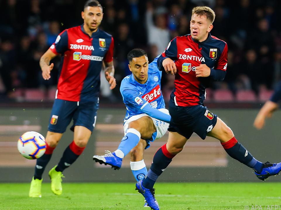Keinen Sieger zwischen Napoli und Genua