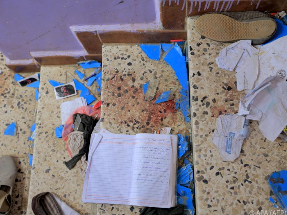 Kinder starben bei Explosion in der Nähe von zwei Schulen in Sanaa