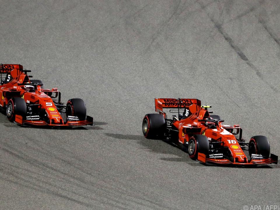 Leclerc vor Vettel - Ferraris Sinnbild dieser noch jungen Saison?