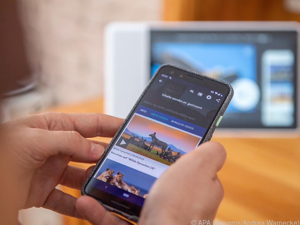 Das Smart Display kann auch als TV-Ersatz genutzt werden