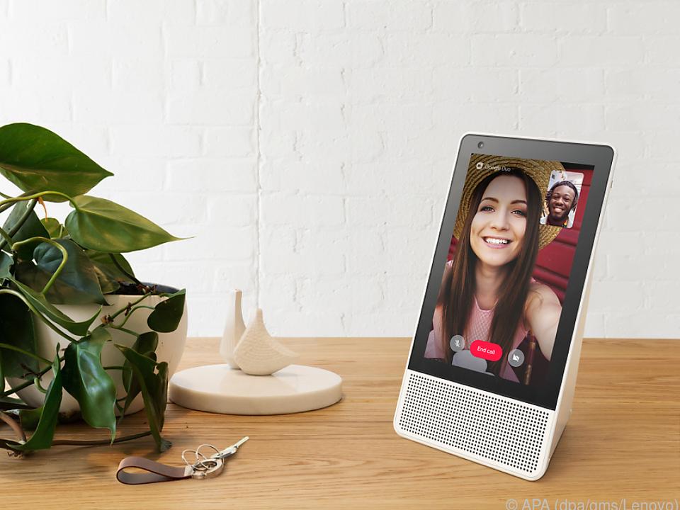 Lenovos Smart Display taugt auch für Videoanrufe über Googles Duo-App