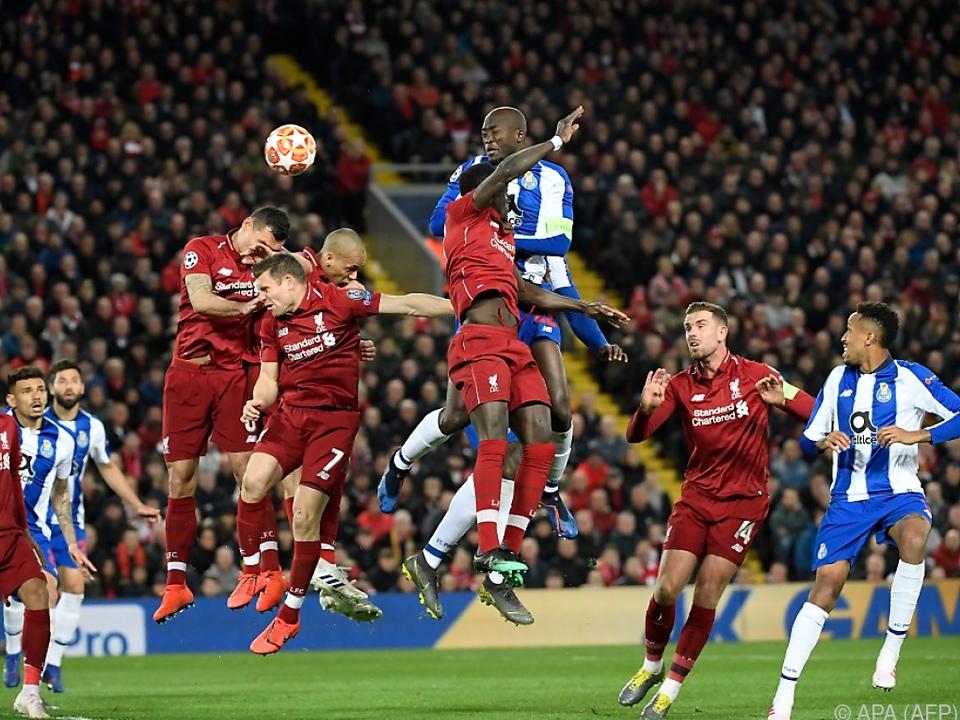 Liverpool hatte den FC Porto ziemlich gut unter Kontrolle