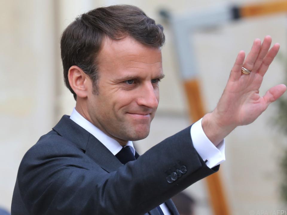 Macron fühlt sich für Europa berufen