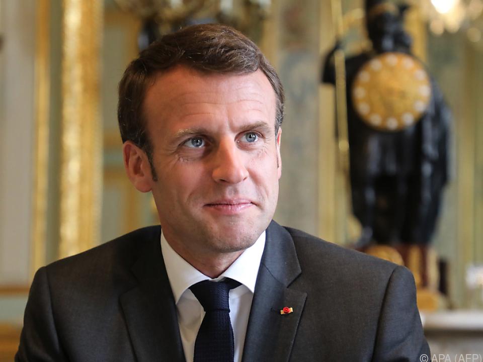 Macron mit großem Fernsehauftritt