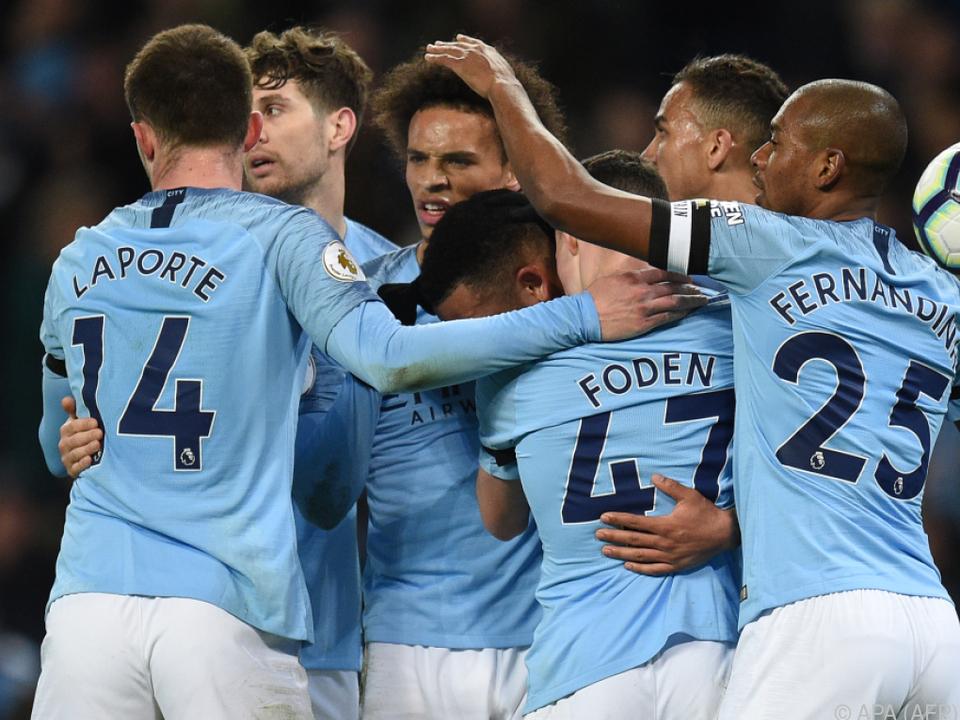 Manchester übernimmt wieder die Tabellenspitze