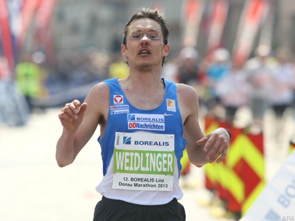 Marathon-Rekordler Günther Weidlinger